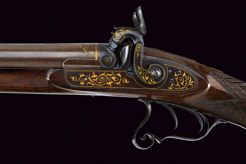A beautiful and elegant double barrelled shotgun - Image 10 of 11