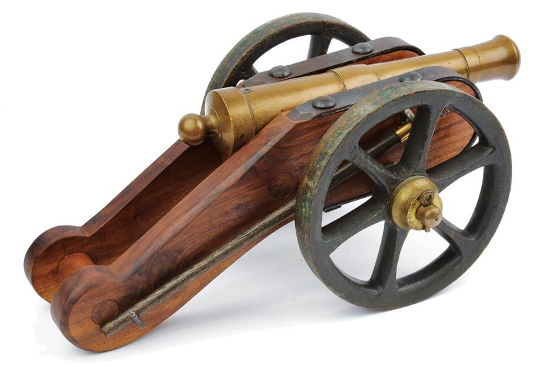A cannon model - Image 5 of 5