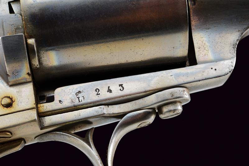 A Lefaucheux centerfire revolving rifle - Image 6 of 9