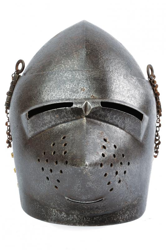 A bascinet in the 14th Century style - Image 5 of 5