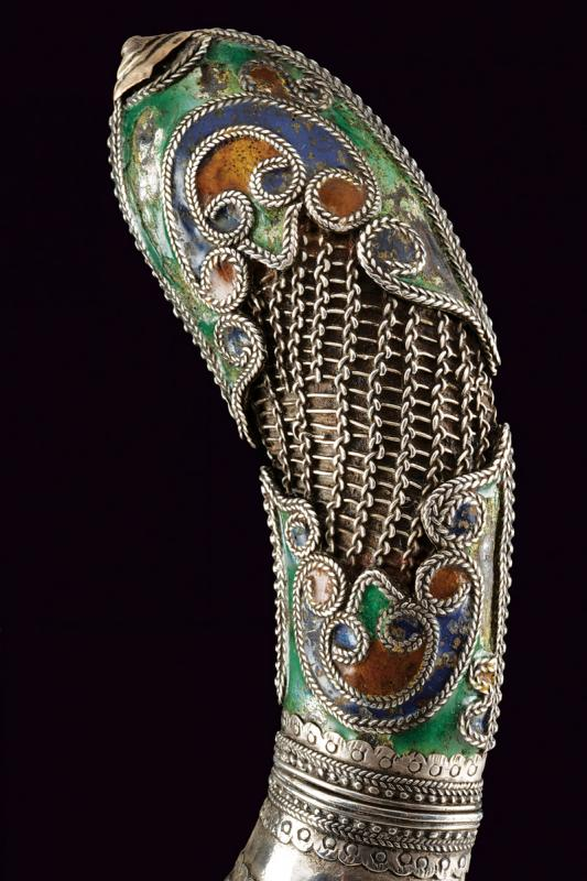 A silver decorated knife - Image 3 of 4