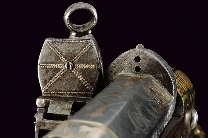 An elegant and rare flintlock tufenk - Image 12 of 13