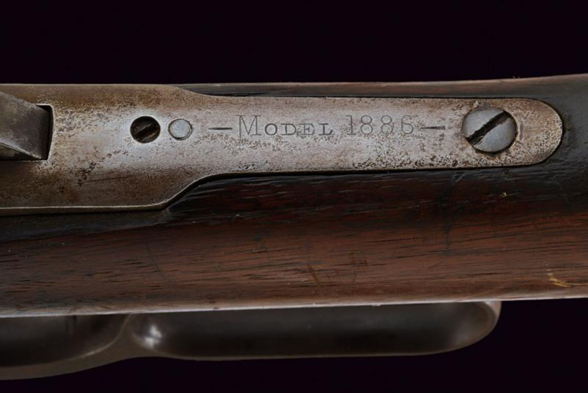 A Winchester Model 1886 Rifle - Image 5 of 11