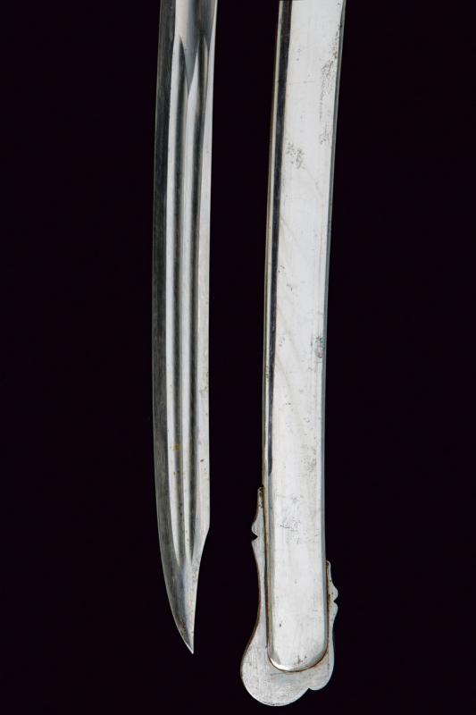 An 1855 model officer's sabre with beautiful blade - Image 2 of 7