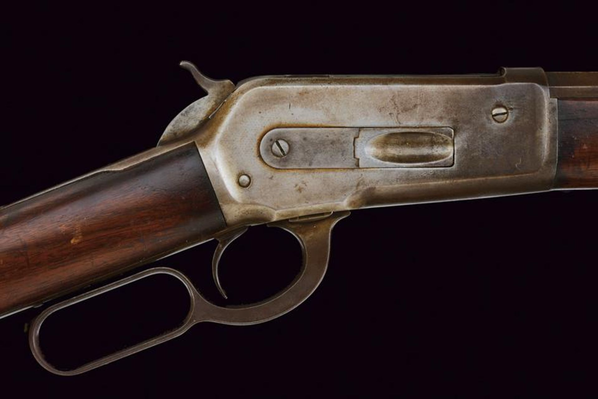 A Winchester Model 1886 Rifle - Image 4 of 11