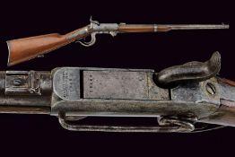 An 1856 model Burnside carbine