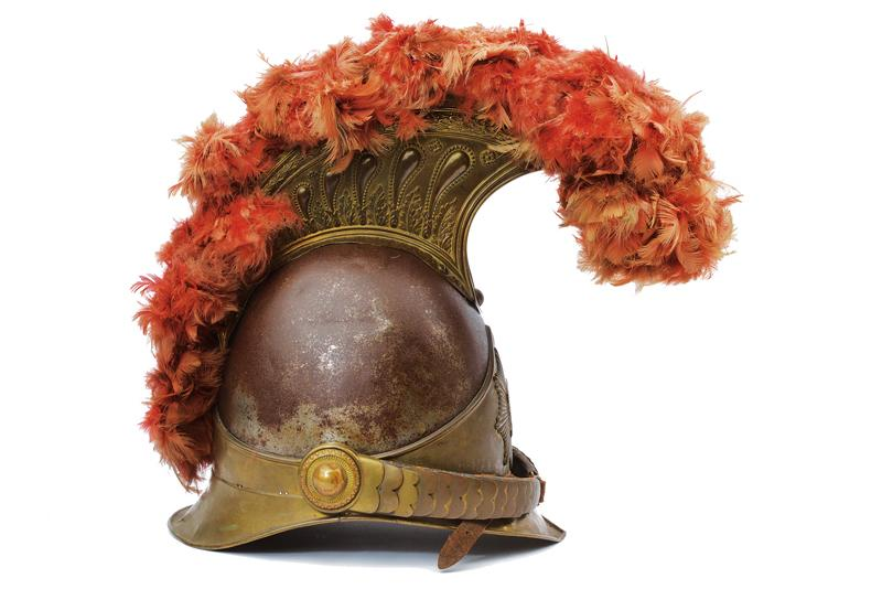 A very scarce Swiss papal Guard Helm - Image 5 of 7