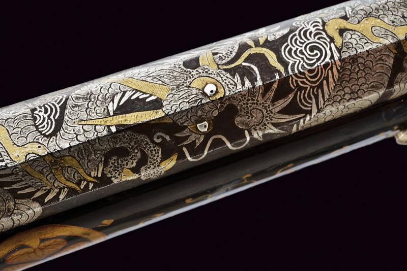 A rare tanegashima matchlock pistol - Image 4 of 14