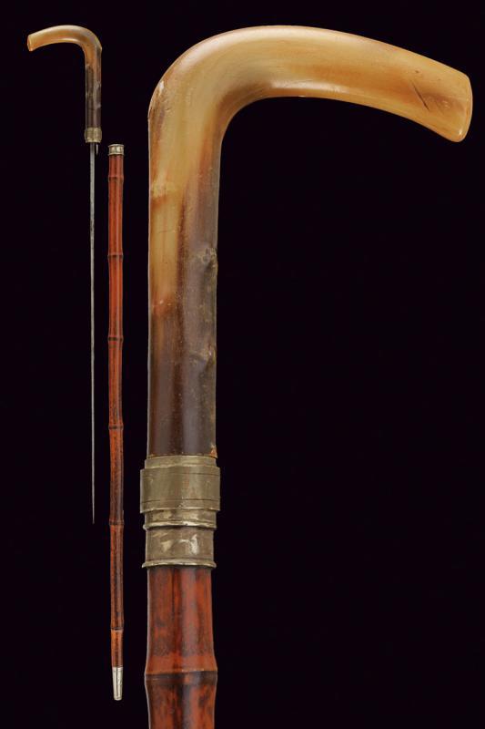A sword stick