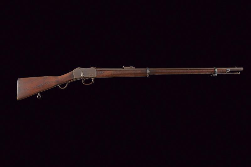 A breechloading Peabody-Martini rifle - Image 6 of 6