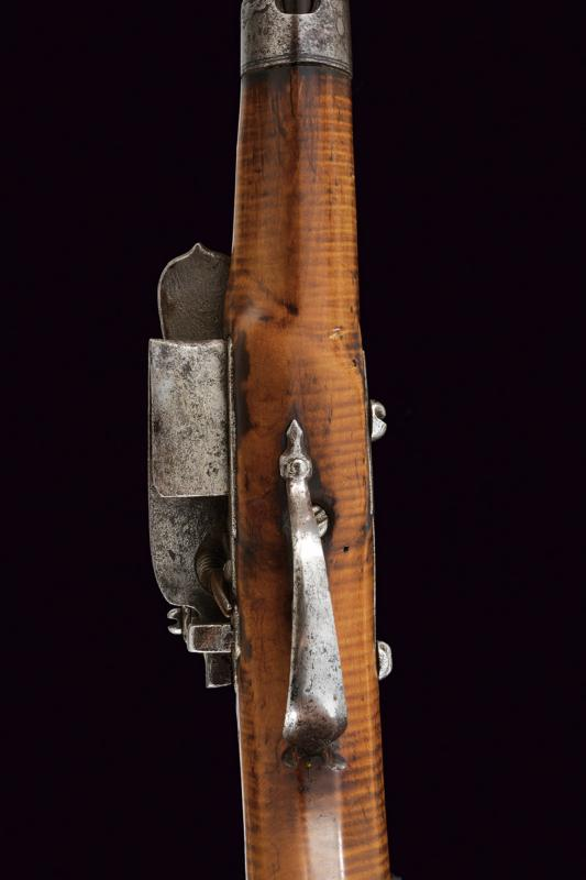 An interesting and rare miquelet flintlock pistol - Image 8 of 9