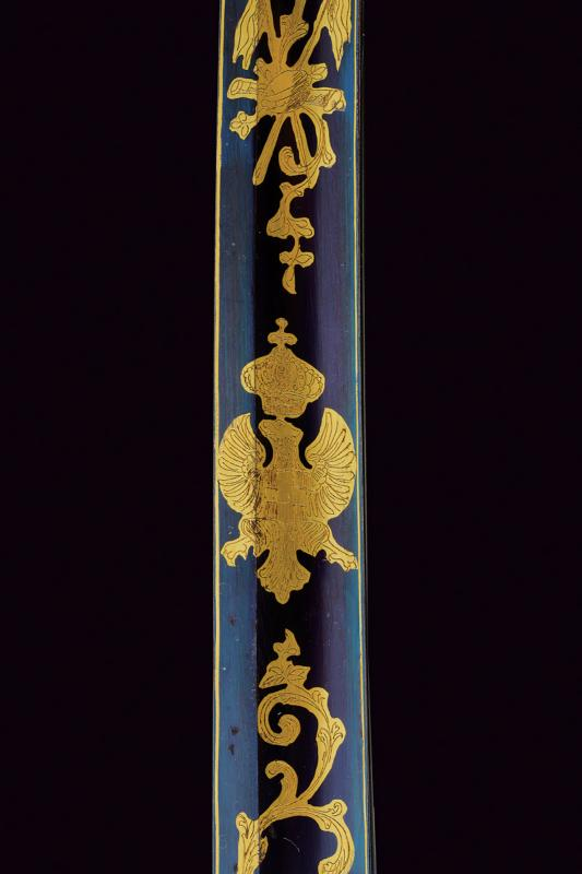 An 1855 model officer's sabre with beautiful blade - Image 6 of 7