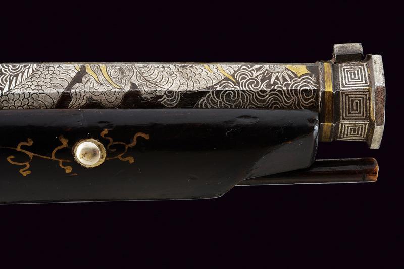 A rare tanegashima matchlock pistol - Image 6 of 14