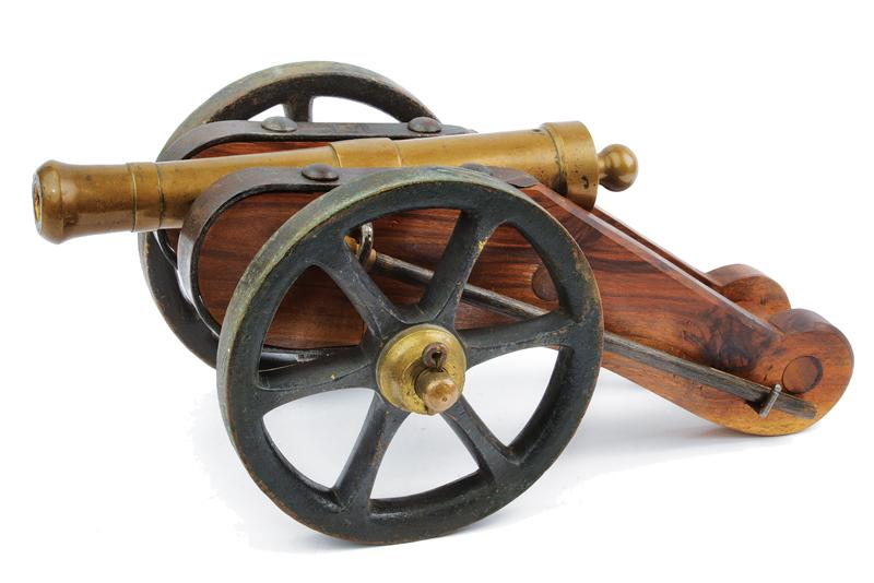 A cannon model