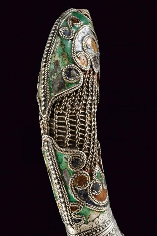 A silver decorated knife - Image 2 of 4