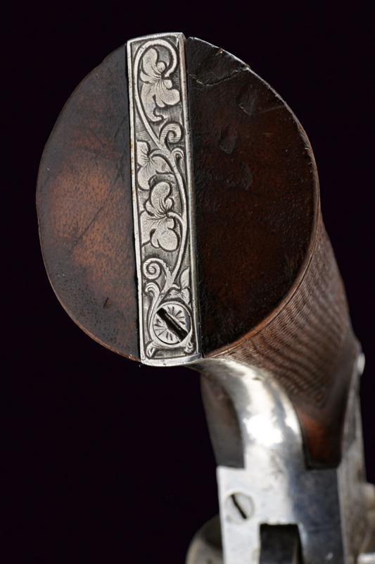 A fine Lefaucheux pin fire revolver - Image 5 of 7
