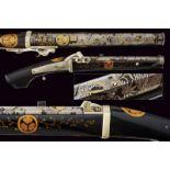 A rare tanegashima matchlock pistol