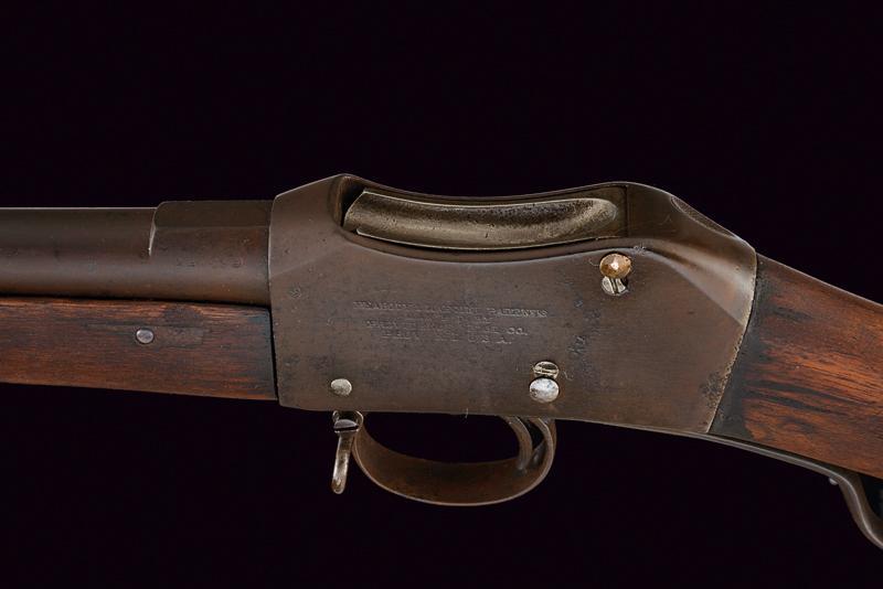A breechloading Peabody-Martini rifle - Image 3 of 6
