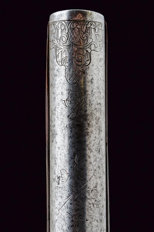 A beautiful flintlock pistol for the oriental market - Image 13 of 14