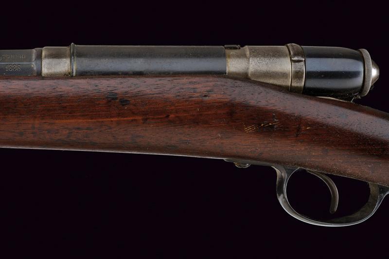 An 1870 model Vetterli breech loading rifle - Image 7 of 10
