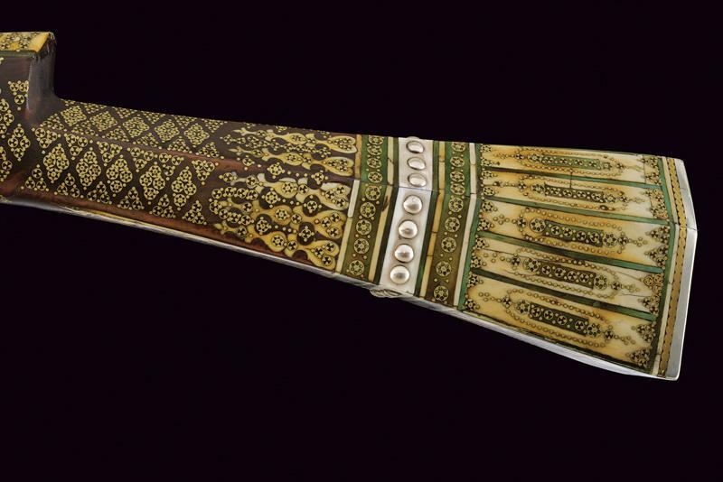 An elegant and rare flintlock tufenk - Image 8 of 13