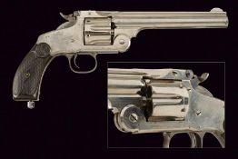 A S&W New Model No. 3 Single Action Revolver