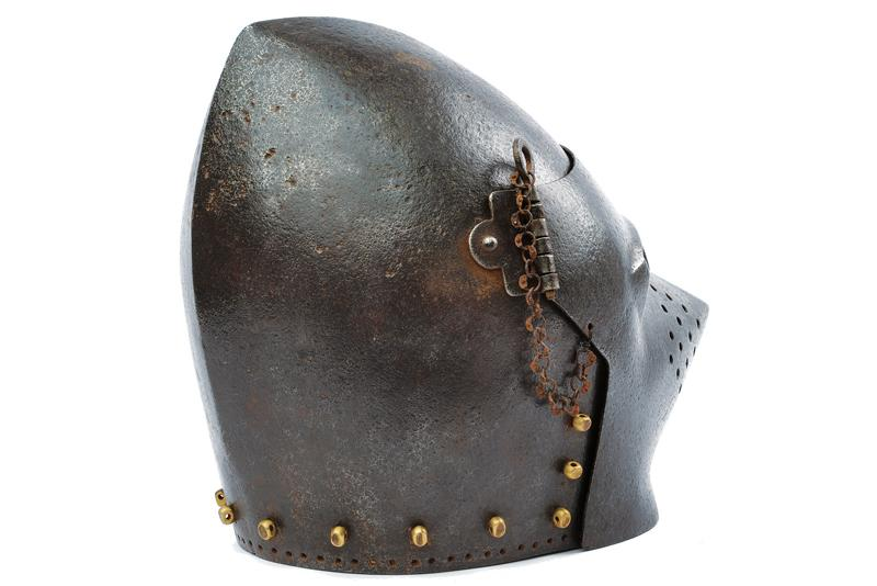 A bascinet in the 14th Century style - Image 3 of 5