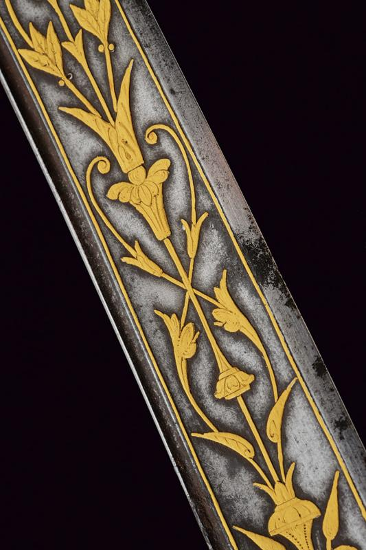 An elegant presentation sword for a gentleman with inscriptions in Arabic - Image 5 of 8