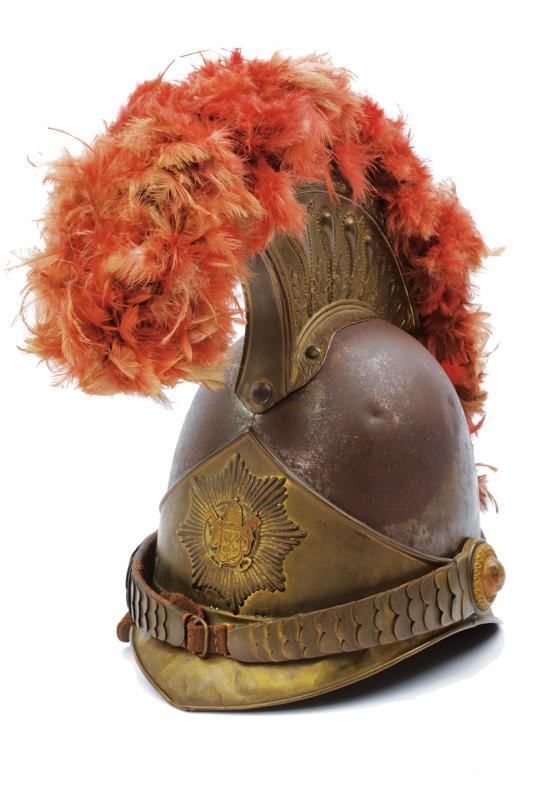 A very scarce Swiss papal Guard Helm