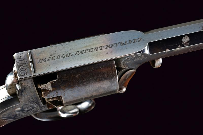 A cased Imperial Patent Tranter Double Action Revolver - Image 3 of 7