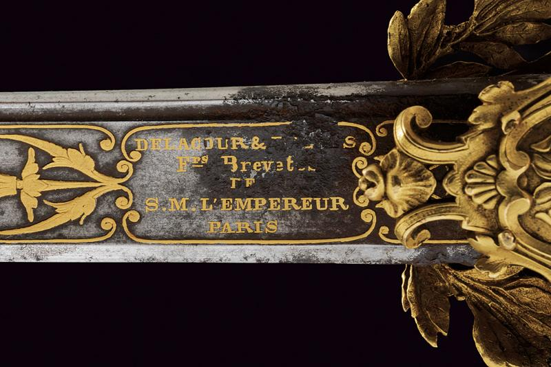An elegant presentation sword for a gentleman with inscriptions in Arabic - Image 6 of 8
