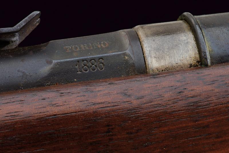 An 1870 model Vetterli breech loading rifle - Image 9 of 10