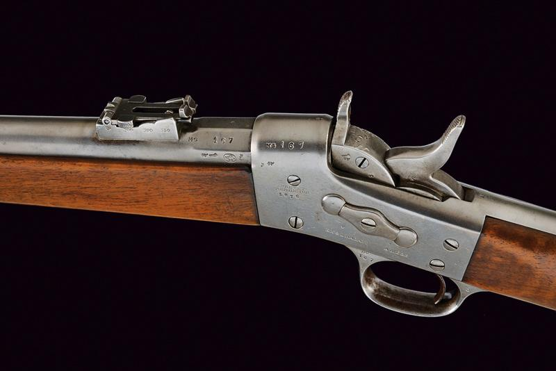 A Remington Rolling Block rifle by Nagant - Image 4 of 7