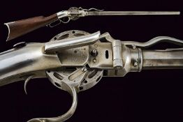 A P. W. Porter Second Model Revolving Turret Rifle