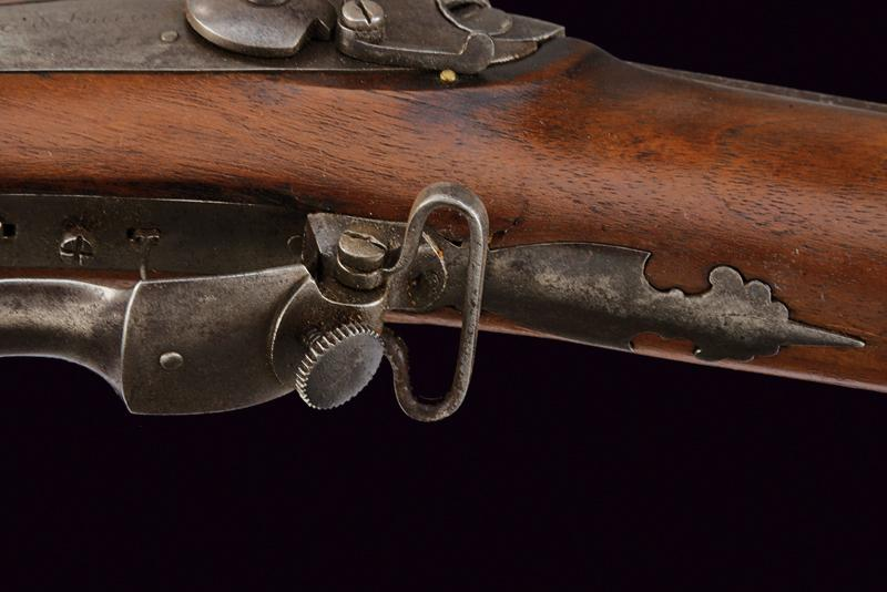 A percussion target rifle by Sticher - Image 4 of 7