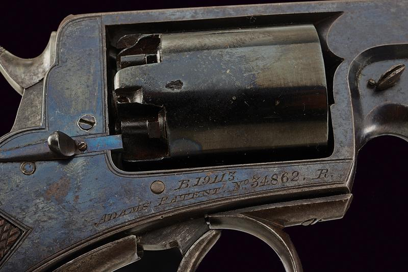 A H. Holland percussion revolver Adams sytem - Image 4 of 6