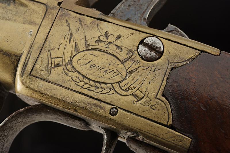 A naval flintlock boxlock pistol - Image 3 of 4