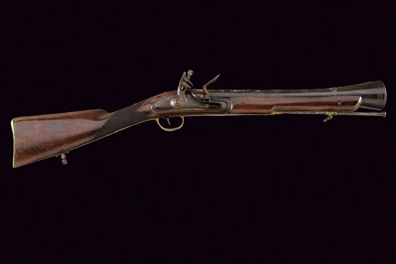 A flintlock blunderbuss with decorated barrel - Image 7 of 7