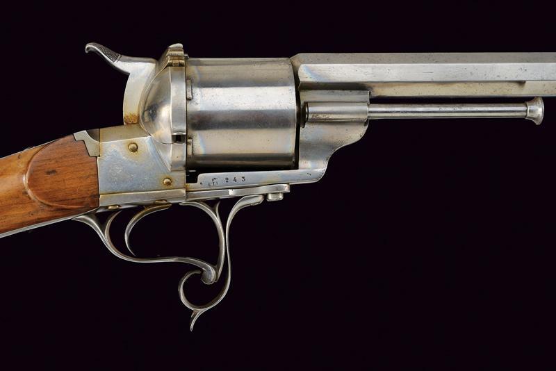 A Lefaucheux centerfire revolving rifle - Image 5 of 9