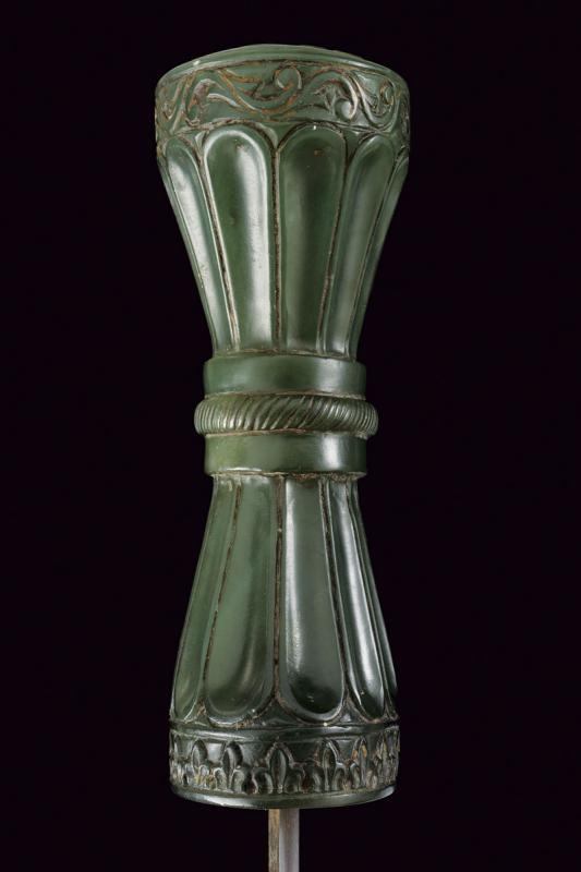 A fine jade hilted kandshar - Image 2 of 8