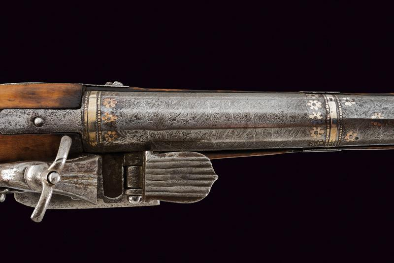 An interesting and rare miquelet flintlock pistol - Image 2 of 9
