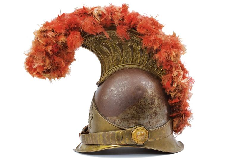 A very scarce Swiss papal Guard Helm - Image 3 of 7