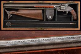 A S&W Model 320 Revolving Rifle