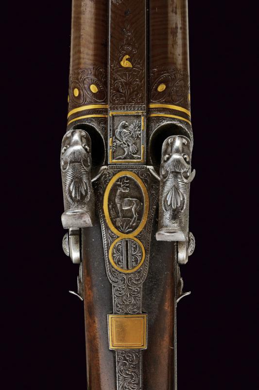 A beautiful double-barrelled shotgun by Maschek - Image 4 of 9