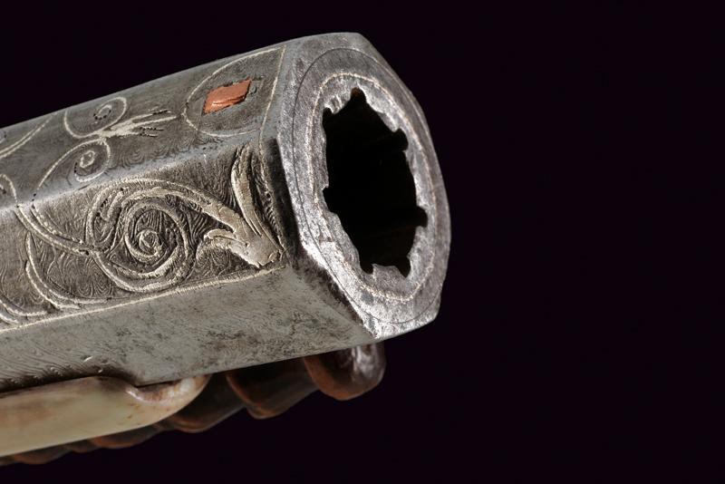 An elegant and rare flintlock tufenk - Image 10 of 13