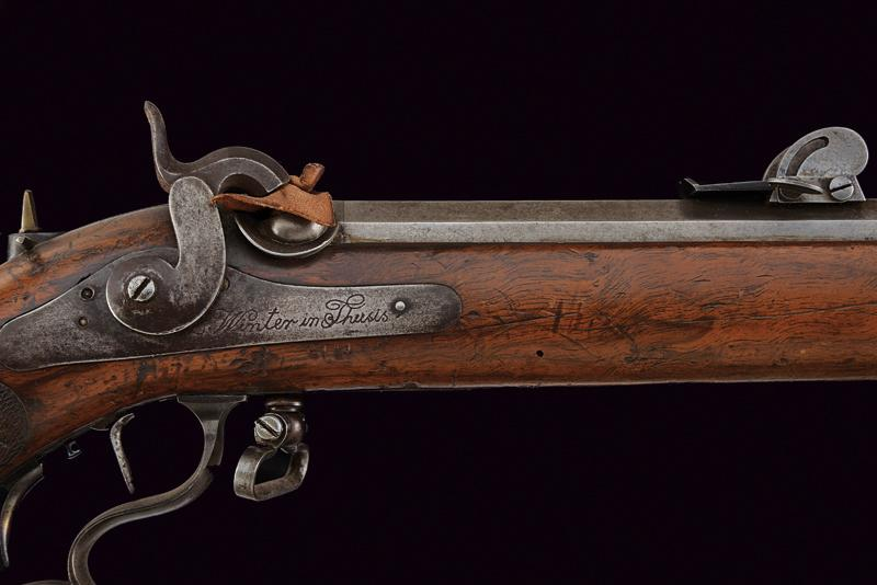 A percussion target rifle by Winter - Image 2 of 7