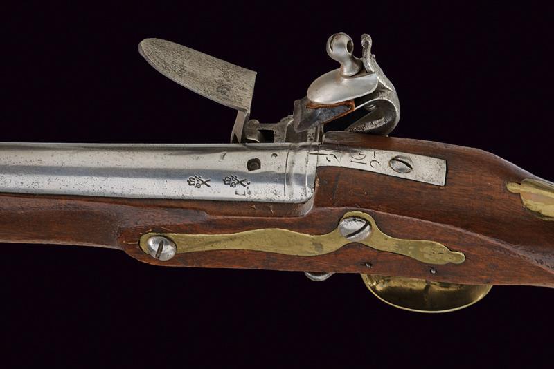 A 'BROWN BESS' Infantry flintlock gun with bayonet - Image 4 of 5