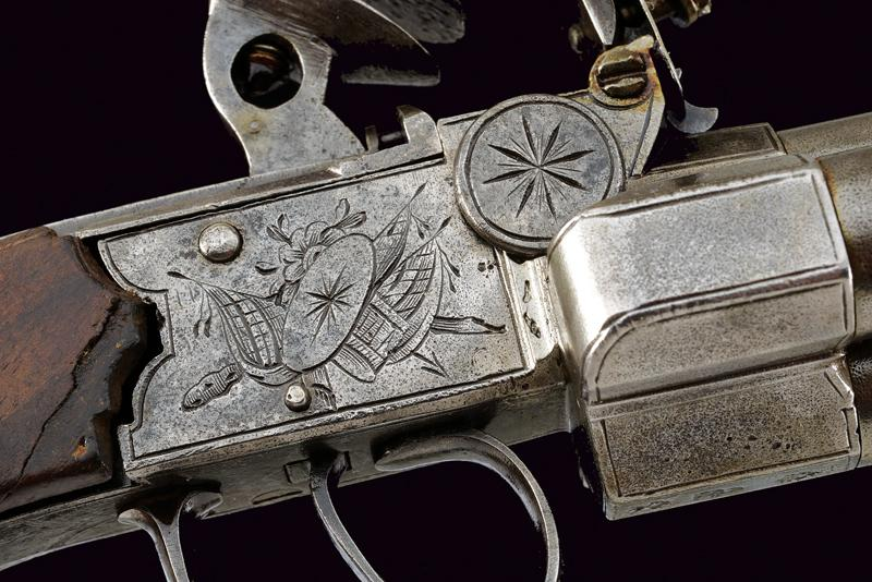 A very scarce flintlock pocket pistol by Booth - Image 5 of 6