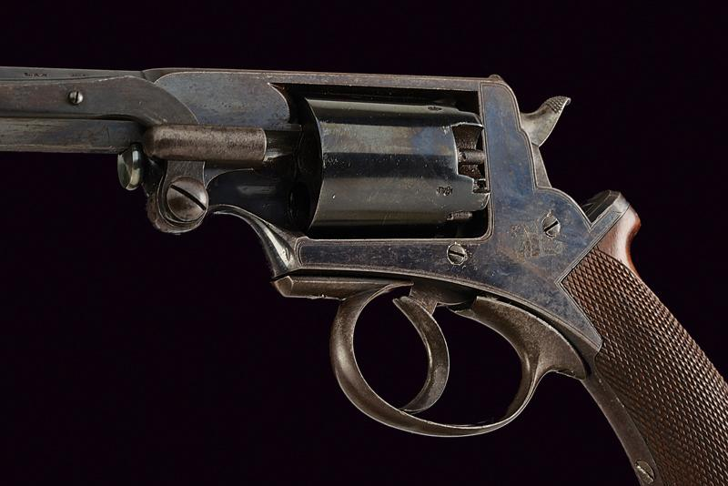 A H. Holland percussion revolver Adams sytem - Image 5 of 6