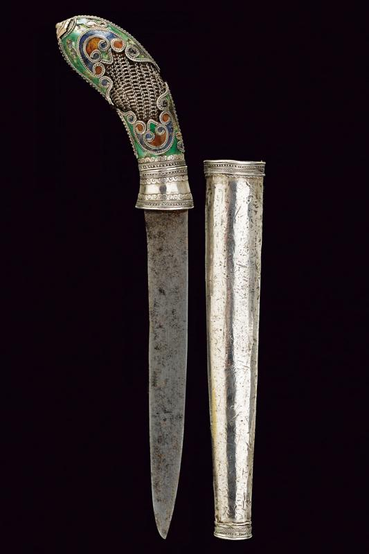 A silver decorated knife - Image 4 of 4